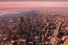 Manhattan du centre Photographie stock
