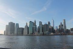 Manhattan du sud de Brooklyn photo stock