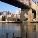 Manhattan durch Königinnen Lizenzfreie Stockfotos