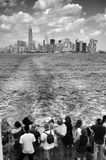 Manhattan e ponte di Brooklyn Fotografia Stock Libera da Diritti