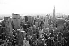 Manhattan em New York imagens de stock