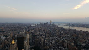 Manhattan From the Empire Stock Photography