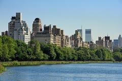 Manhattan est supérieure Photos stock