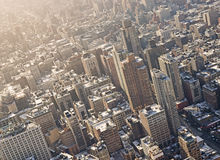 Manhattan in evening light Royalty Free Stock Photography
