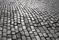 manhattan för 2 kullersten gata Arkivbild