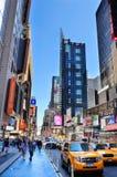 manhattan för 42nd stad ny gata york Royaltyfria Foton
