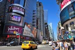manhattan för 42nd stad ny gata york Arkivbilder