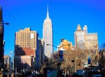 manhattan för byggnadsstadsvälde nytt tillstånd york Royaltyfria Foton