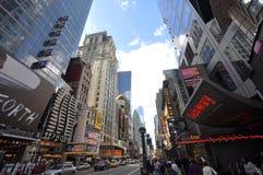 manhattan för stadsområde ny teater york Arkivfoton