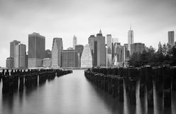 Manhattan Financial District, New York Royalty Free Stock Photo