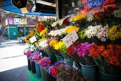 Manhattan flowers Stock Photography