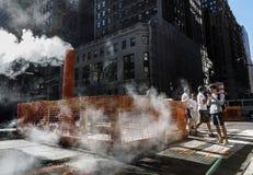 Manhattan gataplats Arkivfoton
