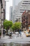 Manhattan gataplats Arkivbilder