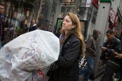 Manhattan gataplats Royaltyfri Bild