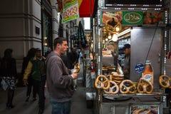 Manhattan gataplats Royaltyfria Bilder