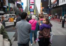 Manhattan gataplats Arkivbild