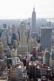 Manhattan-Gebäude. stockbilder