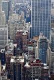 Manhattan-Gebäude. stockfotos