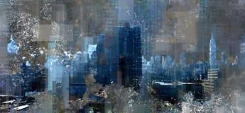 Manhattan harbor Stock Photography