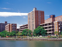 Manhattan. Harlem bay. Royalty Free Stock Image