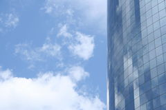 Manhattan High-Rise. High-rise in Manhatten Royalty Free Stock Photography