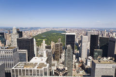 Manhattan From High Viewpoint Royalty Free Stock Image