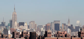 Manhattan Island Royalty Free Stock Photo