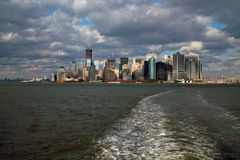 Manhattan Island New York USA Stock Image