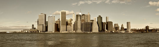 Manhattan Island. Stock Image