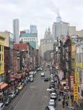 Manhattan kineskvarter royaltyfri fotografi