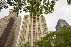 Manhattan klassikerhighrise Royaltyfri Fotografi