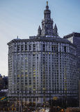 Manhattan kommunal byggnad Arkivbild