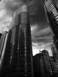 Manhattan läppstiftbyggnad Royaltyfri Foto