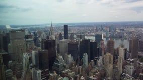 Manhattan. Landscape New York Manhattan and Brooklyn Stock Photography