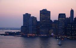 Manhattan, Lang Eiland Stock Fotografie