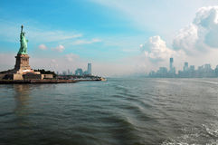 Manhattan - libertà Fotografia Stock