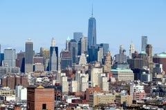 Manhattan linia horyzontu Obraz Stock