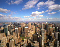 Manhattan Looking North Royalty Free Stock Photos