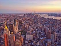 Manhattan más baja aérea Fotos de archivo
