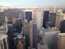 Manhattan måndag morgon Arkivbild
