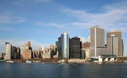 Manhattan méridionale Photos stock