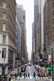 Manhattan, manière de bibliothèque photos stock