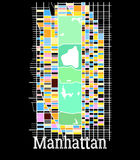 Manhattan Vector Illustration