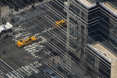Manhattan-Matrix Lizenzfreie Stockfotografie