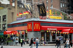 Manhattan McDonald's Stock Photography