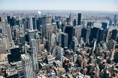 Manhattan miasta linii horyzontu widok Fotografia Royalty Free