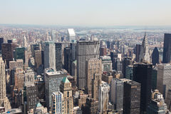 Manhattan, Miasto Nowy Jork, Stany Zjednoczone Obrazy Royalty Free