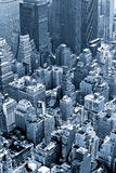 Manhattan, Miasto Nowy Jork. USA. Obraz Royalty Free
