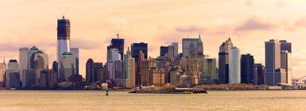 Manhattan, Miasto Nowy Jork. USA. zdjęcie royalty free