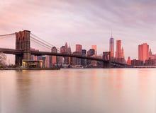 Manhattan, Miasto Nowy Jork. USA. obrazy royalty free